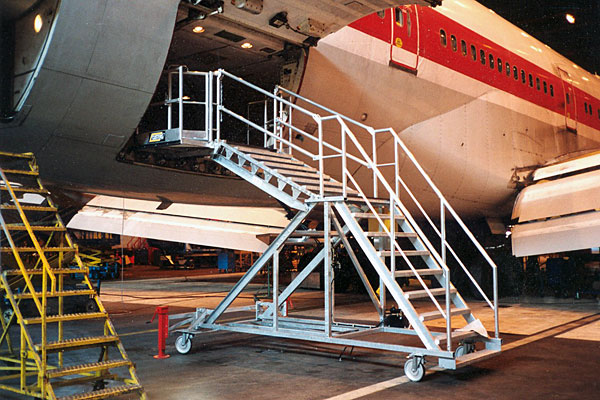 Cargo Bay Stairs